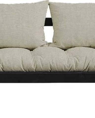 Variabilní pohovka Karup Design Bebop Black/Linen Beige