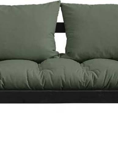 Variabilní pohovka Karup Design Bebop Black/Olive Green