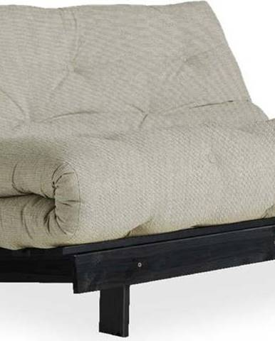 Variabilní pohovka Karup Design Roots Black/Linen Beige