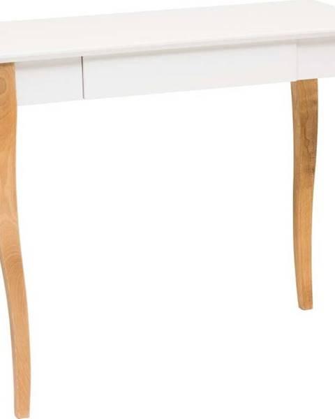 Ragaba Bílý psací stůl Ragaba Lillo,délka85 cm