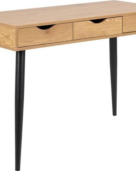 Actona Pracovní stůl v dekoru dřeva Actona Neptun