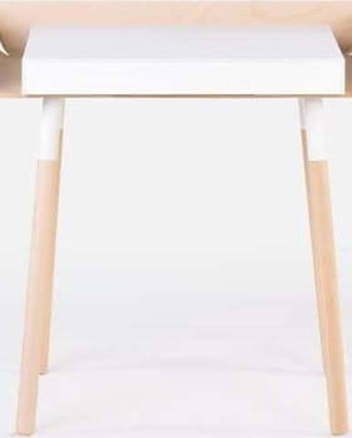 Bílý psací stůl s 1 šuplíkem EMKO My Writing Desk