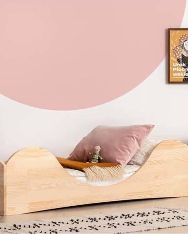 Dětská postel z borovicového dřeva Adeko Pepe Adel,90x200cm