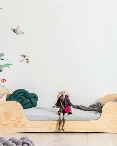 Dětská postel z borovicového dřeva Adeko Pepe Frida,80x200cm