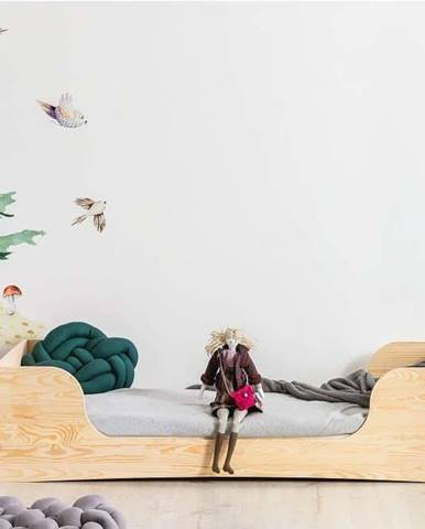 Dětská postel z borovicového dřeva Adeko Pepe Frida,90x160cm