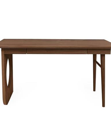 Hnědý psací stůl Woodman Bau