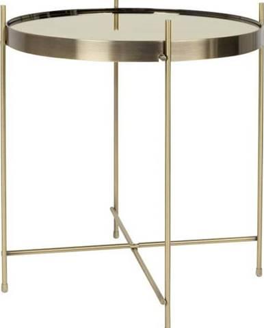 Odkládací stolek ve zlaté barvě Zuiver Cupid, ø 43 cm