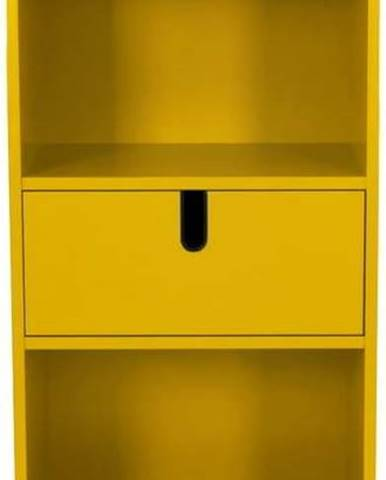 Žlutá police Tenzo Uno, výška 152cm