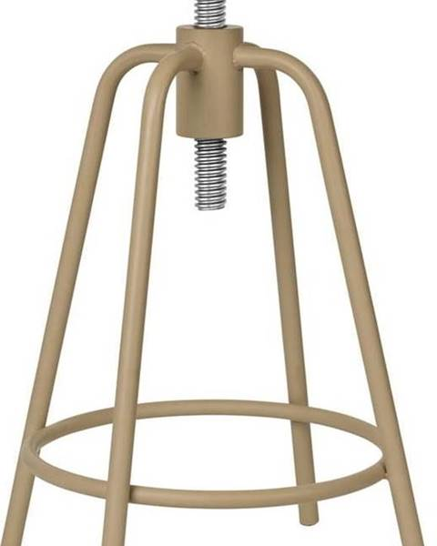 Blomus Béžová otočná stolička Blomus Around, výška 45 cm