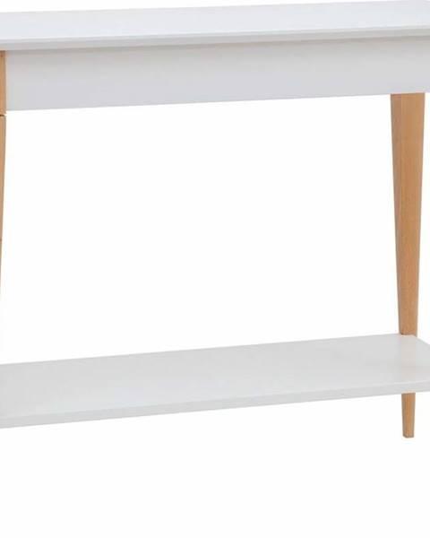 Ragaba Bílý konzolový stolek Ragaba Mimo, šířka 85 cm