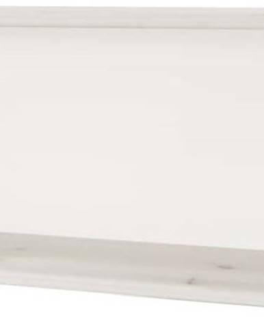 Bílá dětská polička z borovicového dřeva Flexa Classic