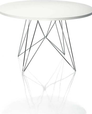 Bílý jídelní stůl Magis Bella, ø 120cm