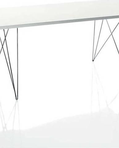 Bílý jídelní stůl Magis Bella, 200 x 90cm