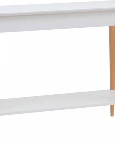 Bílý konzolový stolek Ragaba Mimo, šířka 105 cm