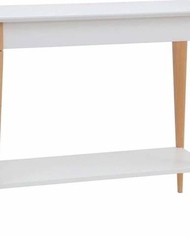 Bílý konzolový stolek Ragaba Mimo, šířka 85 cm