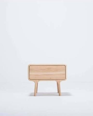 Noční stolek z masivního dubového dřeva Gazzda Fawn