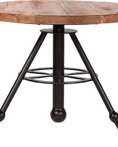 Odkládací stolek sdeskou zmangového dřeva LABEL51 Solid, ⌀60cm