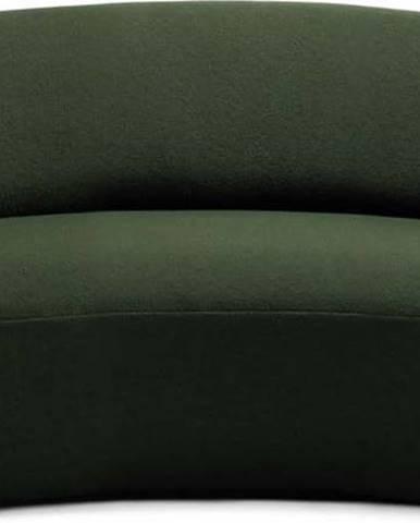 Zelená vlněná pohovka EMKO Naïve, 162 cm