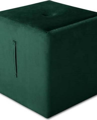 Zelený puf Mazzini Sofas Margaret, 40 x 45 cm