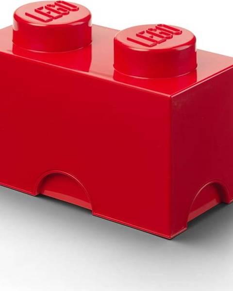 LEGO Červený úložný dvojbox LEGO®