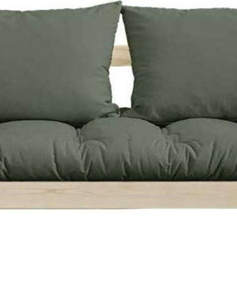Karup Design Variabilní pohovka Karup Design Bebop Natural Clear/Olive Green