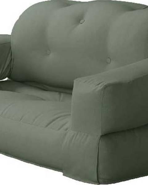 Karup Design Variabilní pohovka Karup Design Hippo Olive Green