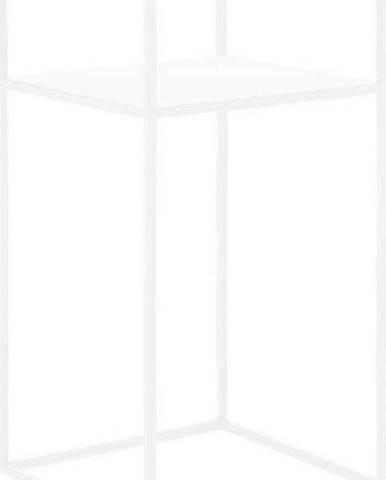 Bílý odkládací patrový stolek Custom Form Tensio, 30x30cm