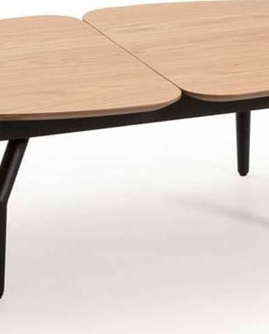 Konferenční stolek v dekoru dubového dřeva Marckeric Alda