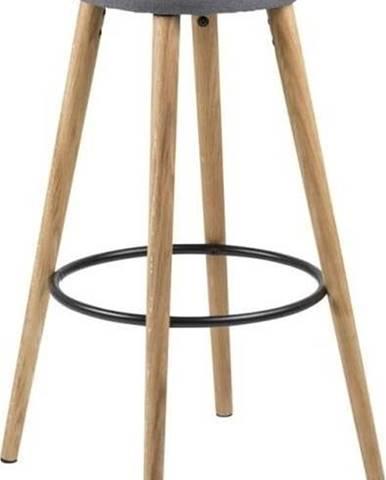 Šedá barová židle Actona Hector