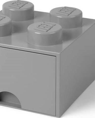 Šedý úložný box čtverec LEGO®