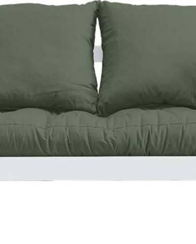 Variabilní pohovka Karup Design Beat White/Olive Green