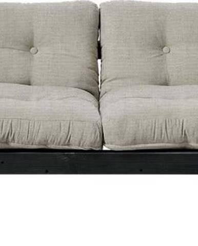 Variabilní pohovka Karup Design Step Black/Linen Beige