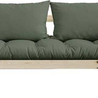 Variabilní pohovka Karup Design Bebop Natural Clear/Olive Green
