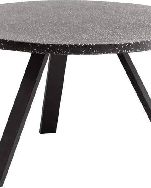 La Forma Černý jídelní stůl La Forma Shanelle, ⌀ 120 cm