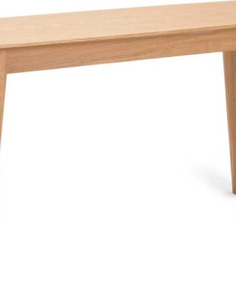 Unique Furniture Konzolový stolek s nohami z dubového dřeva Unique Furniture Rho,120x40cm