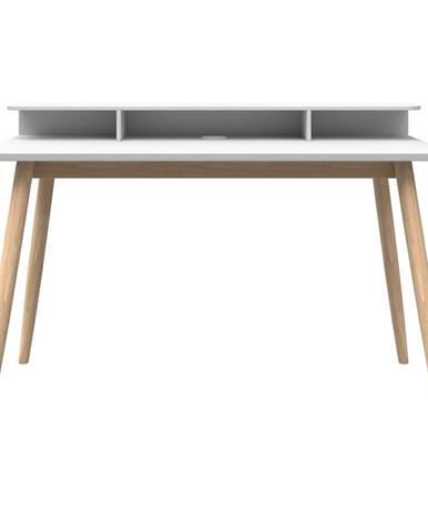 Bílý psací stůl Woodman Farsta