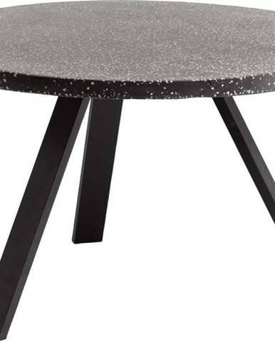 Černý jídelní stůl La Forma Shanelle, ⌀ 120 cm