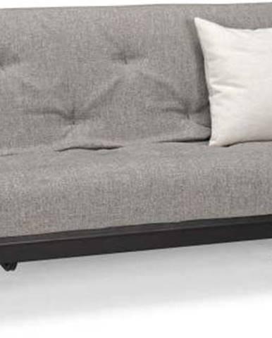 Šedá rozkládací pohovka Innovation Fraction Elegant Mixed Dance Grey, 97x200cm