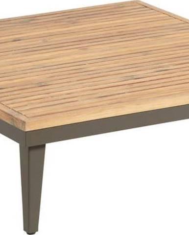 Zahradní konferenční stolek s deskou z akáciového dřeva La Forma Pascale, 90 x 90 cm