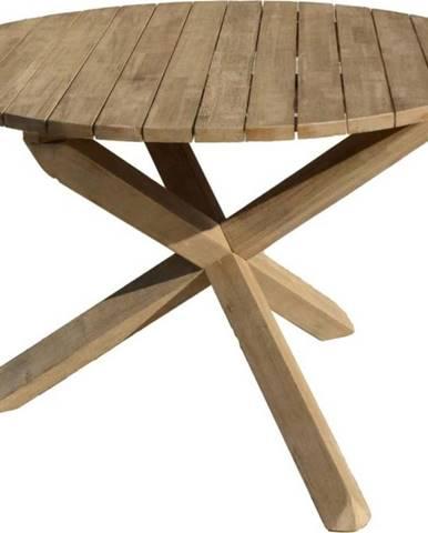 Zahradní stůl zakátového dřeva ADDU Melfort, ⌀110cm