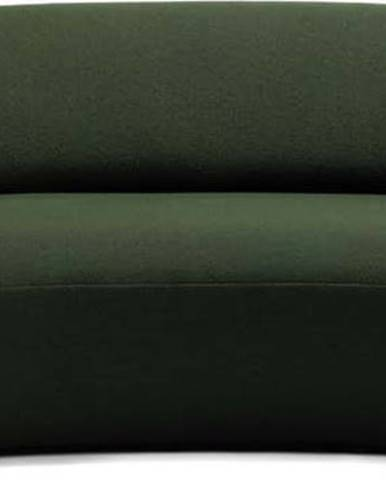 Zelená vlněná pohovka EMKO Naïve, 214 cm