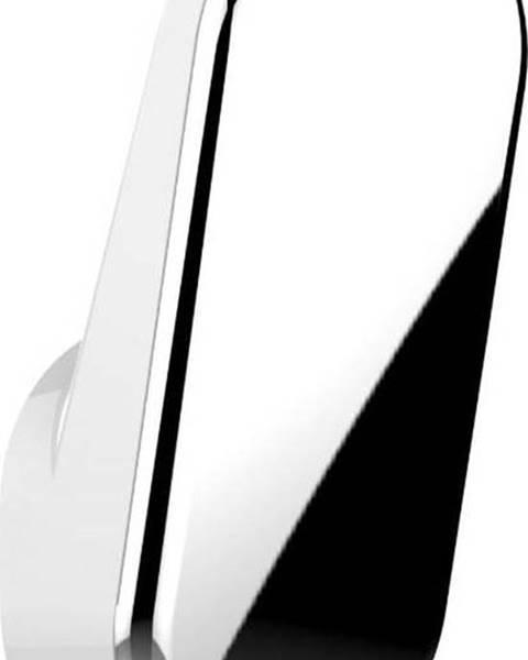WENKO Sada 2 samodržících nástěnných háčků ve stříbrné barvě Wenko Anso