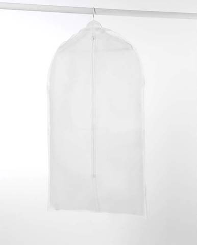 Bílý obal na šaty Compactor Milky
