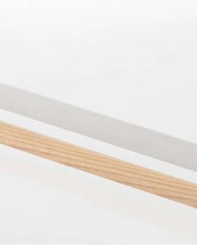 Bílý závěsný držák na utěrky YAMAZAKI Tosca