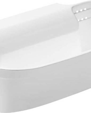 Bílý závěsný košík na odpad Premier Housewares Cut and Collect