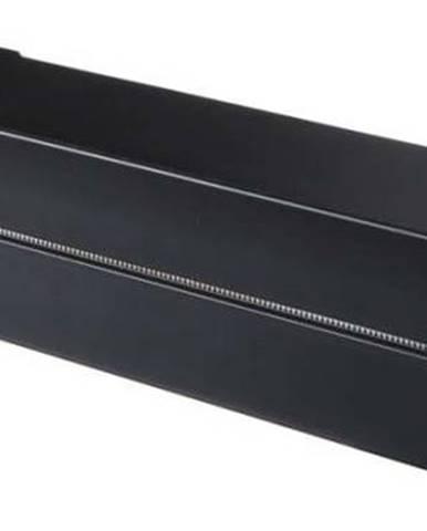 Černý magnetický držák na kuchyňské folie YAMAZAKI Tower