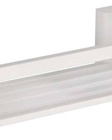 Světle šedá samodržicí nástěnná koupelnová polička Wenko Bralia