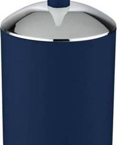 Tmavě modrý WC kartáč Wenko Brasil