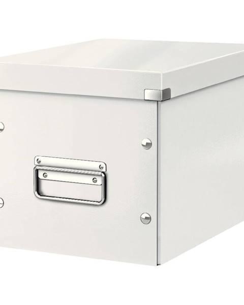 Leitz Bílá úložná krabice Leitz Office, délka 26 cm