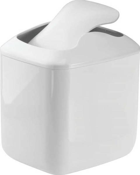 iDesign Bílý odpadkový koš iDesign Una